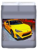 2015 Scion Fr-s Number 2 Duvet Cover