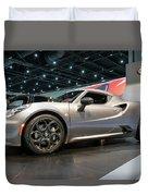 2016 Alfa Romero 4c Spider Duvet Cover
