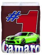 2016 Camaro Duvet Cover