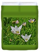 2016 Early May Meadow Garden Lady Jane Tulip Duvet Cover