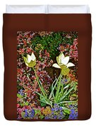 2016 Early May Side Garden Delight Duvet Cover