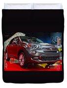 2016 Fiat 500x Duvet Cover