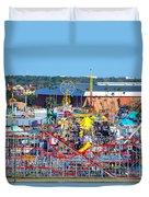 2016 Florida State Fair Duvet Cover