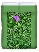 2016 Mid May  Exotic Purple Tulip Duvet Cover