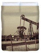 2016_10_pecos Tx_ Pump Jacks 1 Duvet Cover