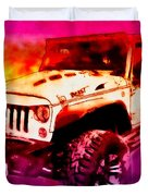 2017 Jeep Unlimited Beast Duvet Cover