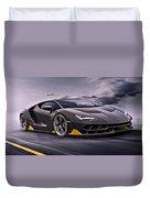 2017 Lamborghini Centenario Duvet Cover