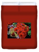 2017 Mid October Monona Farmers' Market Buckets Of Blossoms 1 Duvet Cover