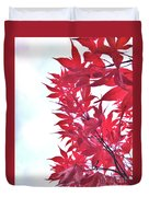 2017 Red Maple 3 Duvet Cover