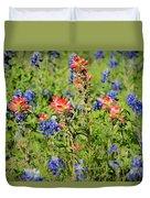 201703300-068 Indian Paintbrush Blossom 2x3 Duvet Cover