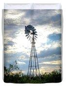 2017_08_midland Tx_windmill 2 Duvet Cover