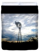 2017_08_midland Tx_windmill 4 Duvet Cover