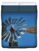2017_08_midland Tx_windmill 7 Duvet Cover