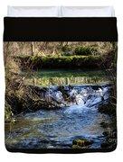 2018_2_12  Mountian Stream-4218 Duvet Cover