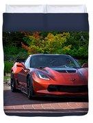 201x  Corvette 'copperhead' C7 Duvet Cover