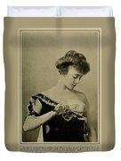 Electro-therapeutics, 1910 Duvet Cover