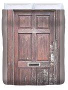 Wooden Door Duvet Cover