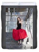 Fashion Shoot Duvet Cover