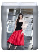 Fashion Shoot Duvet Cover