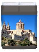 Valletta, Malta Duvet Cover