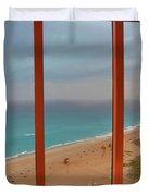 22- Windows On Paradise Duvet Cover