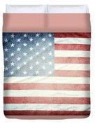 American Flag 37 Duvet Cover