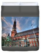 Hamburg Germany Duvet Cover