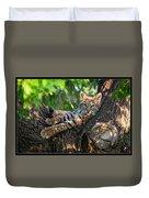 In A Lurch - Bobcat 8 Duvet Cover
