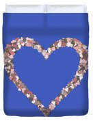 Love Heart Valentine Shape Duvet Cover