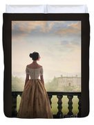 Victorian Woman Duvet Cover