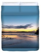Daybreak Seascape Duvet Cover