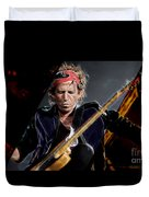 Keith Richards Collection Duvet Cover