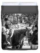 Manito Equestrian Center Benefit Horse Show Duvet Cover