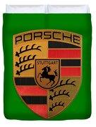 Porsche Label Duvet Cover
