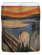 The Scream Duvet Cover