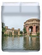 2464- Palace Of Fine Arts Duvet Cover