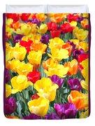 Amsterdam Tulips. Duvet Cover