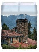 Bogota Cerro De Monserrate Duvet Cover