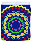 Mandala Ornament Duvet Cover
