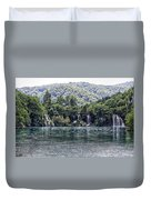 Plitvice Lakes National Park Croatia Duvet Cover