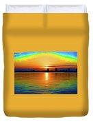 25- Psychedelic Sunrise Duvet Cover