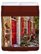 25 Queen Street Duvet Cover
