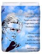 256- David Bowie Duvet Cover