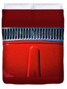 2674- Red Volkswagen  Duvet Cover
