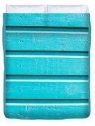 Blue Wood Duvet Cover