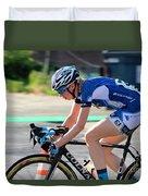 Fearless Femme Racing Duvet Cover