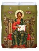 Jesus Christ Lord Savior Duvet Cover
