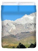 The Plateau Scenery Duvet Cover