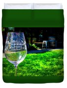 2719- Mauritson Wines Duvet Cover