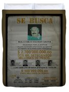 Bogota Museo Historico Policia Duvet Cover